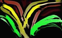 AbstractRed Green Yellow