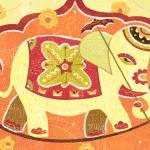 """Festival Elephant"" by SeanKaneStudio"