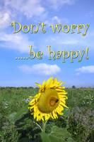 Don't worry... be happy!