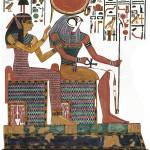 """Hathor and Re"" by MoralesCorrea"