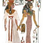 """Isis and Nefertari"" by MoralesCorrea"