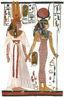 Isis and Nefertari
