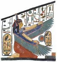Maat Protecting the Name of Nefertari