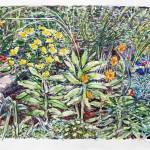 """""""Garden in Brooklyn"""" by Anno"""