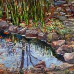 """pond in Brooklyn 1995"" by Anno"