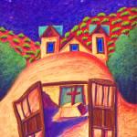 """Full Moon Over Chimayo"" by wasankari"