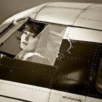 Kymi-Aviator-3 Art Prints & Posters by Paul Swortz