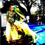 """Bride of New Orleans, Jackson Square"" by clou"