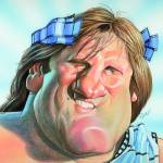 """Gerard Depardieu"" by odea"