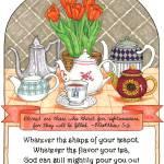"""Refreshing Teapot"" by visionsandverses"