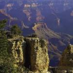"""Grand Canyon South Rim Buttes"" by johncorney"