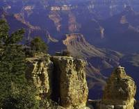 Grand Canyon South Rim Buttes