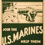 """""""Join the U.S. Marines by Unknown Artist"""" by JasonLockwood"""