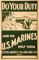 Join the U.S. Marines by Unknown Artist