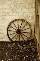 Sepia wagon wheel 2
