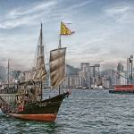 """Hong Kong Harbour"" by sparrowhawk"