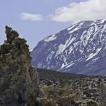 """Mono Lake Tufa and the Sierra Nevada Range (0501)"" by johncorney"