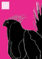 Gunnison Sage Grouse - pink & black