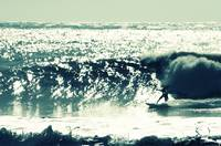 Hey Joe - Surfing at Freshwater Bay, Isle of Wight