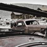 """Rusty Cars at Bodie State Park California (0452)"" by johncorney"