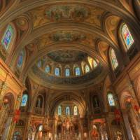 Our Lady Of Victory Basilica 1+2 Art Prints & Posters by Anthony Mirabella