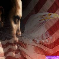 OBAMA EAGLE AND FLAG IMPOSITION WEDNESDAY 85