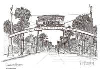 University Heights - San Diego by RD Riccoboni