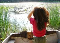 Child by Bullhead Lake 2
