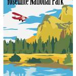 """Fly Yosemite by Kent AIr Art"" by HamAviation"