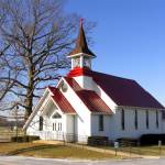 """Red Roof Church IMG_0013-1"" by jeffgriffin"
