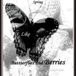 """Strawberies and butterflies"" by ConnieM"