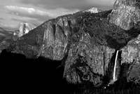 Bridalveil Fall & Half Dome
