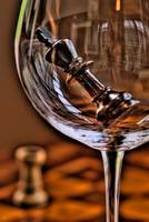 HDR Wine Glass (Detail)