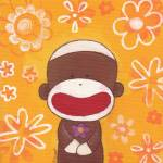 """Flower Sock Monkey"" by PrincessMonkey"