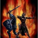 """""""Sword and Arrow"""" by williamli"""