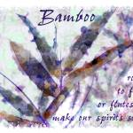 """bamboo rods to fish purple"" by karenerdmann"
