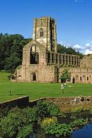 Fountains Abbey in Summer 11