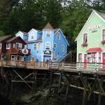 """Creek Street, Ketchikan, Alaska"" by LisaAndres"