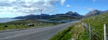 a view from harris