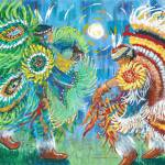 """Fancy Dancers"" by firstnationsartstore"