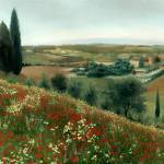 """Poppies in Tuscany"" by Lwiedemer"