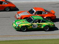 Porsche 911s go head to head