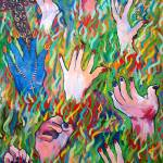 """Hands Defy Their Planting"" by sondrasula"
