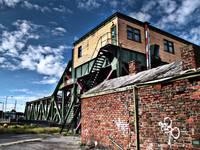 Duke St Bridge, Birkenhead Docks