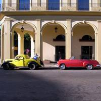 Cars in Old Havana