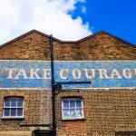 """Vibrant London: Take Courage"" by SnowdonPhotography"