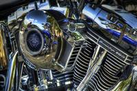 Chopper Engine Detail