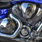 """Honda Motorcycle Detail"" by dawilson"