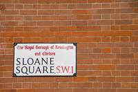 Sloane Square Street Sign