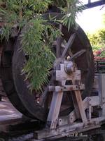 retired water wheel